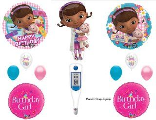 Doc McStuffins THERMOMETER Happy Birthday PARTY balloons Decorations Supplies : Other Products : Everything Else