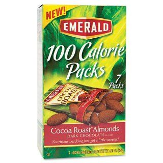 100 Calorie Pack Dark Chocolate Cocoa Roast Almonds, .63oz Packs, 7/Box