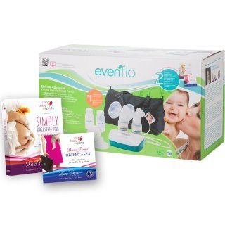 Evenflo Feeding Deluxe Advanced Double Electric Breast Pump  Breast Feeding Pumps  Baby