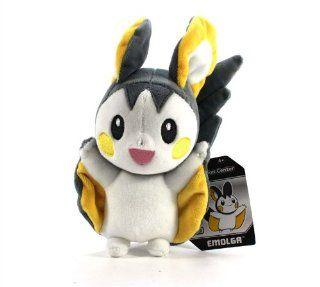 "Pokemon Center Pokedoll Plush Doll USA   7"" Emolga/Emonga Toys & Games"