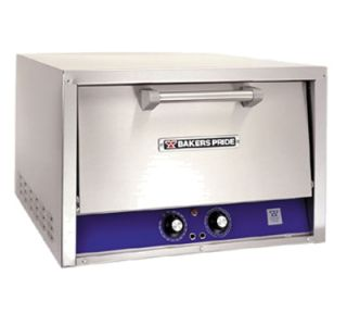 Bakers Pride Electric Single Deck Countertop Pizza/Pretzel Oven, 220 240/1v