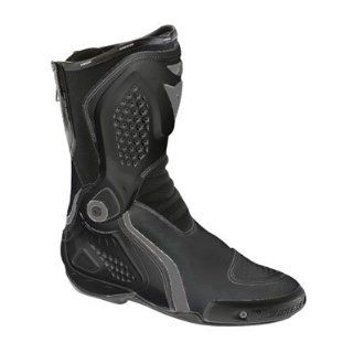 Dainese Torque Race Out Motorcycle Boots Size 11.5 Black Automotive