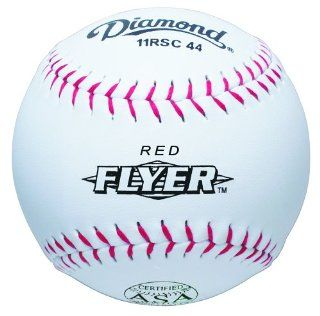 Diamond 11 Inch Super Synthetic Cover Softball, 44 COR, 375 Compression, ASA Stamped, Dozen : Fast Pitch Softballs : Sports & Outdoors