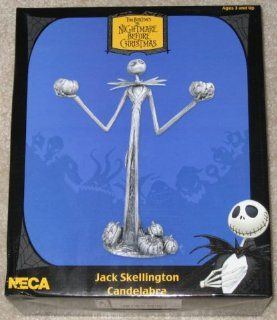 Nightmare Before Christmas: Pewter Jack Skellington Candelabra: Home Improvement