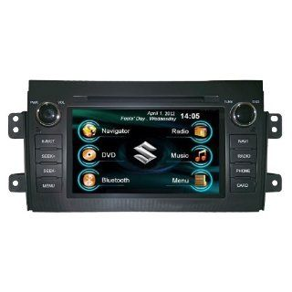 Oem Replacement In dash Radio Dvd Gps Navigation Headunit for Suzuki Sx4 with Rear View Camera  In Dash Vehicle Gps Units  GPS & Navigation