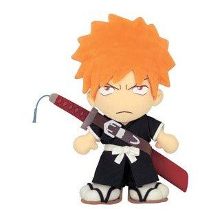 Bleach Kurosaki Ichigo DX Plush Doll Toys & Games