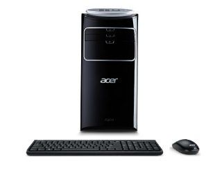 Acer Aspire AT3 605 UR20 Desktop (Black) : Desktop Computers : Computers & Accessories
