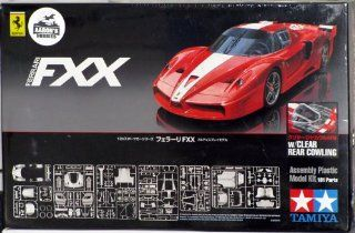 1/24 Ferrari FXX Clear Rear Cow Toys & Games