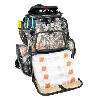 Wild River NOMAD Mossy Oak Tackle Tek Lighted Backpack w/4 PT3600 Trays: Computers & Accessories