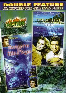 BENEATH 12 MILE REEF+TREASURE OF JAMAICA REEF[ROBERT WAGNER+CHERYL LADD][DOUBLE FEATURE][COLOR]: TERRY MOORE RICHARD BOONE  /  STEPHEN BOYD DAVID LADD, ROBERT D. WEBB  /  VIRGINIA L. STONE: Movies & TV