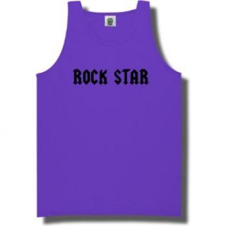 ROCK STAR Bright Neon Tank Top   6 bright colors at  Men�s Clothing store: Tank Top And Cami Shirts