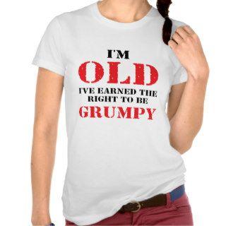 Funny Senior Citizen Gift Shirt