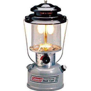 Coleman Dual Fuel 2 Mantle Lantern  Camping Lanterns  Sports & Outdoors