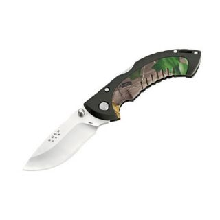 Buck Knives 10 Point Omni Hunter Folding Hunting Knife Realtree camo 401502