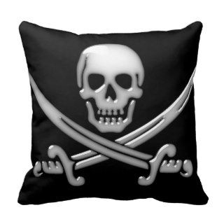 Pirate Skull & Sword Crossbones (TLAPD) Pillow