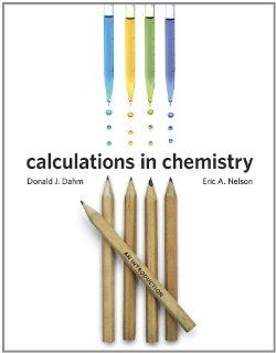 Calculations in Chemistry An Introduction 9780393912869 Science & Mathematics Books @