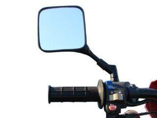 TMS Dual Sport Motorcycle Mirrors Honda XL XR 200 250 400 600 650 XR600R XR650L Pair Suzuki DR 200 250 DR350 350 DRZ 400 650 DR650 Kawasaki KL KLR KLX 250 400 600 650 KLR650: Automotive