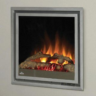 Napoleon Grills EF30 Clean Face Electric Fireplace w/ Realistic   Gas Logs