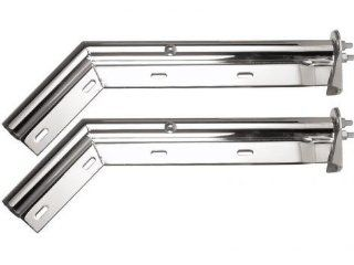 "Chrome 1 1/8"" Spring Loaded Mud Flap Hanger RM648 SL Automotive"