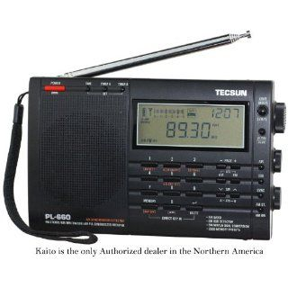 Tecsun PL 660 Portable AM/FM/LW/Air Shortwave World Band Radio with Single Side Band, Black Electronics