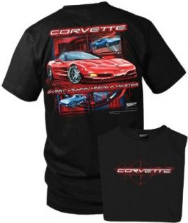 Wicked Metal Corvette shirt   Every Weapon   Corvette C5 shirt: Clothing