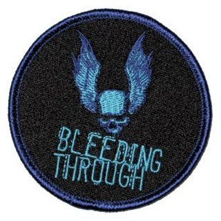 Bleeding Through Rock Band Logo Iron On Patch P 663: Clothing