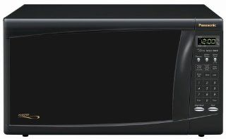 Panasonic NN H665BF Family size  1.2 cu.ft. 1300 Watt Microwave,Black: Kitchen & Dining