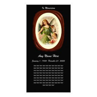 In Loving Memory= Angel Cameo Picture Card