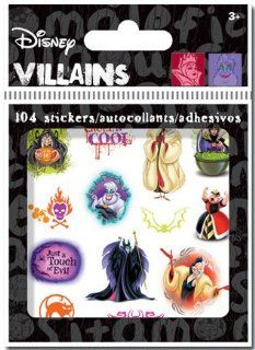 Sandylion Disney Villains Hall Bitty Bits Stickers