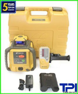 NEW TOPCON RL H4C RECHARGEABLE SELF LEVELING ROTARY LASER LEVEL, SLOPE LASER RB