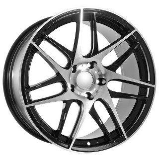 19 Inch BMW Black Wheels Rims BBS Replica Style: Automotive