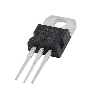 5V 1.5A Positive L7805 TO22 Package Voltage Regulator Radio Frequency Transceivers Industrial & Scientific