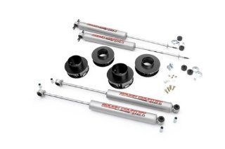 Rough Country 695N2   2 inch Suspension Lift Kit with Premium N2.0 Series Shocks for Jeep: Grand Cherokee WJ 4WD: Automotive