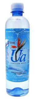 U'a Deep Sea Hawaiian Water, 16.9 Ounce (Pack of 24) : Soda Soft Drinks : Grocery & Gourmet Food