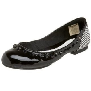 Diesel Women's Daisy W Flat,Black/White,5 M US: Shoes