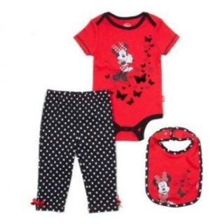 Disney Minnie Mouse Polka Dot Bodysuit/Leggings Set   Baby Girls (3/6 Months) Clothing