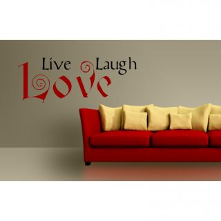 Live Laugh Love Vinyl Wall Art