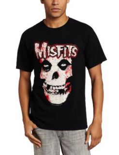 Impact Merchandising Men's Bloody Misfits Skull T Shirt: Fashion T Shirts: Clothing