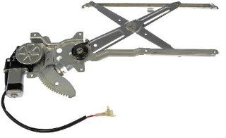 Dorman 741 799 Toyota Tacoma Front Driver Side Power Window Regulator with Motor: Automotive