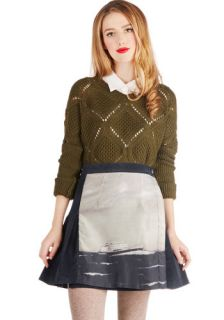 Maritime After Time Skirt  Mod Retro Vintage Skirts