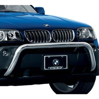 BMW Chrome Stainless Grille Guard Standard Front Bumper   X3 SAV 2005 Automotive