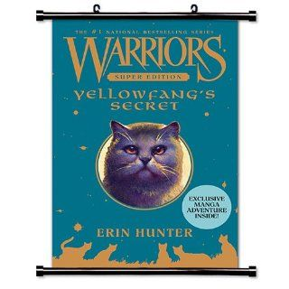 "Warriors: Yellowfang's Secret (Erin Hunter) Fabric Wall Scroll Poster (16"" x 24"") Inches   Prints"