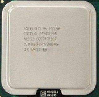 Intel Pentium Dual Core E5500 SLGTJ LGA775 Desktop CPU Processor 2.8G 2M 800 FSB: Computers & Accessories