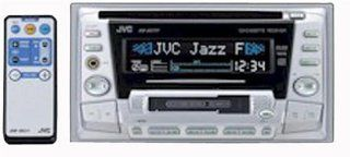 JVC KW XC777 Double DIN CD/Cassette Receiver Car Stereo Electronics