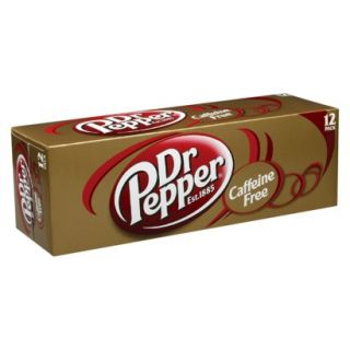 Dr. Pepper Caffeine Free Soda 12 oz, 12 pk
