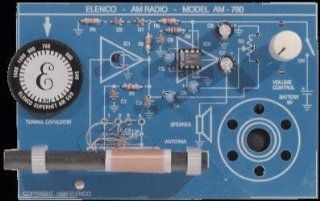 ELENCO AM 780K/CS10 (Casepack of 10) 2 IC AM Radio Kit (soldering kit): Everything Else