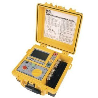 Ideal Industries 61 796 Earth Ground Resistance Tester, 3 Pole, Includes TL 796 Lead Set Kit Ground Resistance Meters Industrial & Scientific
