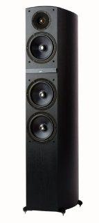 Jamo C809 Floor Standing Speaker (Single, Black) Electronics