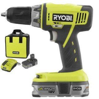 "Ryobi ZRP815 18V Li Ion 1/2"" Cordless Drill/Driver   Power Tool Combo Packs"