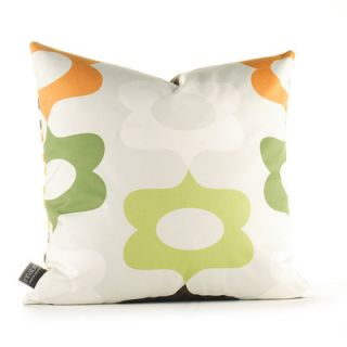 Inhabit Aequorea Laugh Synthetic Pillow LAGCFxxP Size: 18 x 18, Color: Gras
